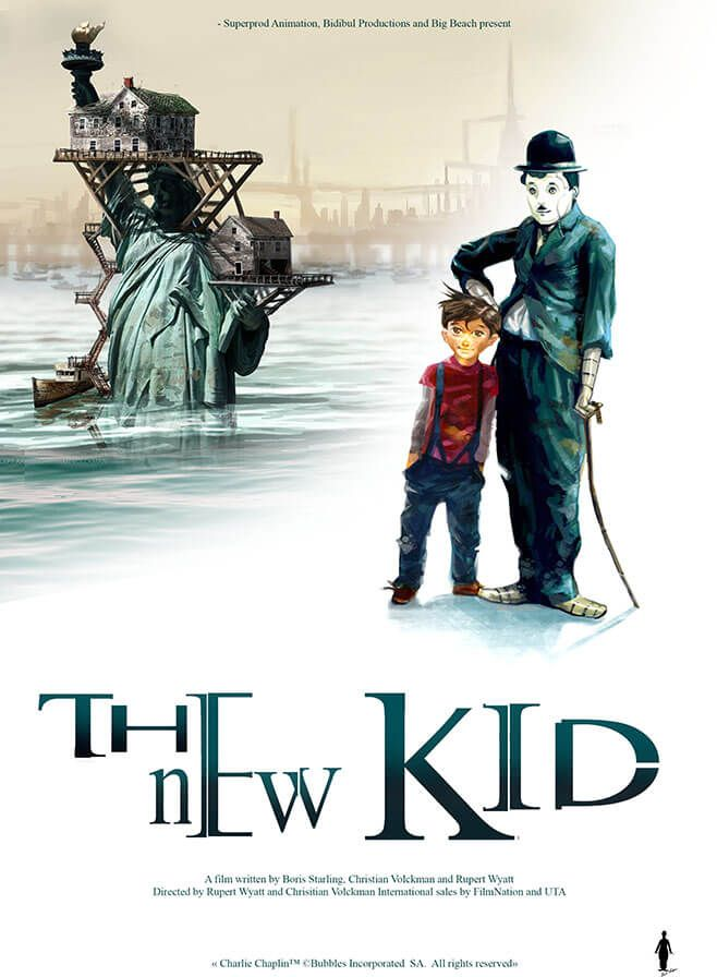 The New Kid, a robot movie